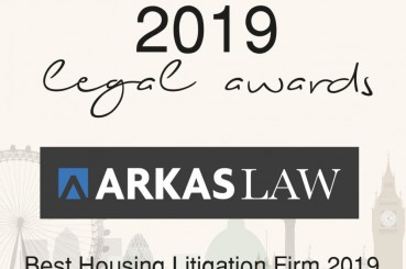Best Housing Litigation Firm 2019 at the SME News 2019 Legal Awards