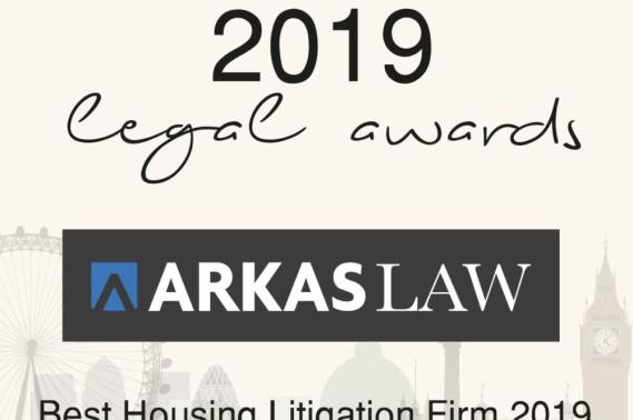 Best Housing Litigation Firm 2019 at the SME News 2019 Legal Awards